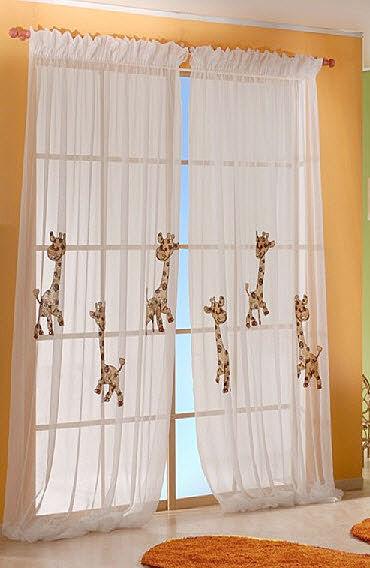 Ni o en casa cortinas francesas para las habitaciones de - Como hacer unas cortinas para el salon ...