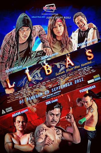 poster filem libas rosyam nor malaysia gambar
