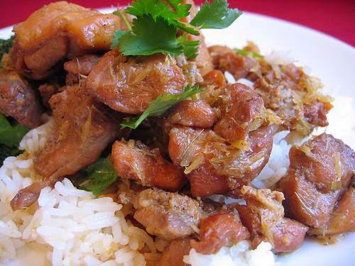 Vietnamese Chicken Recipes - Gà Xào Xả Ớt