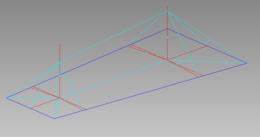 Calculer la pente d une toiture for Calcule d une pente
