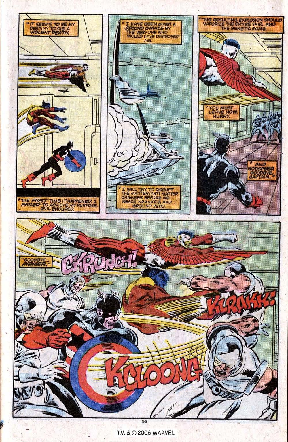 Captain America (1968) Issue #348c #280 - English 57