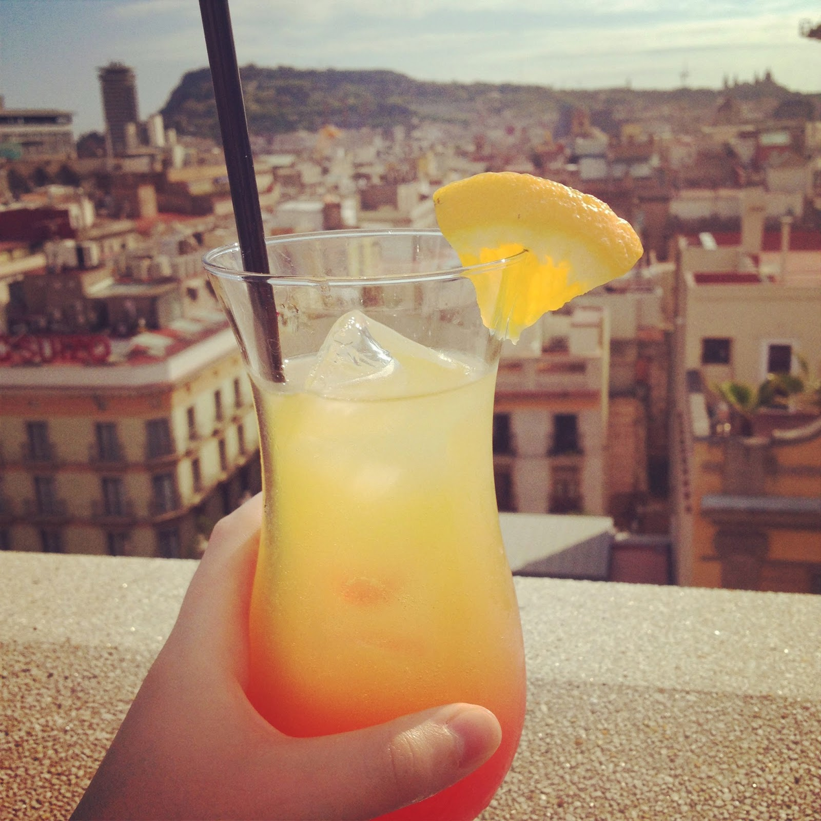 roof top cocktails barcelona