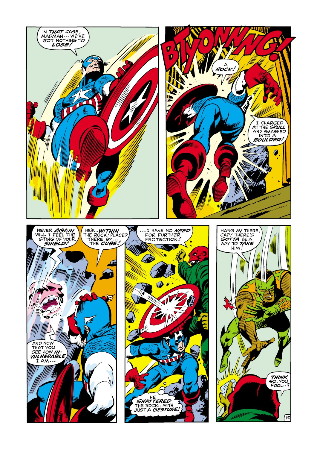 Captain America (1968) Issue #119 #33 - English 13