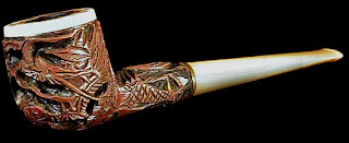 Beautiful Hand Carved Pipe