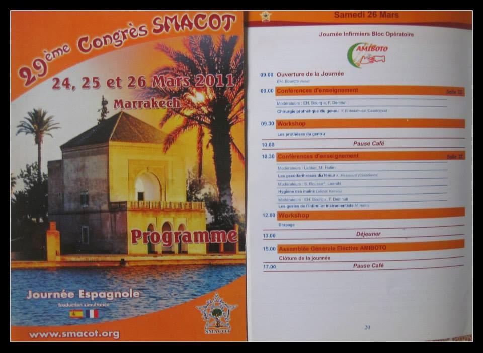 PROGRAMME CONGRE  2011