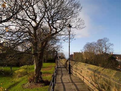 Paseo por las murallas de Chester