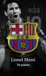 Messi Live Wallpaper + barcelona untuk android