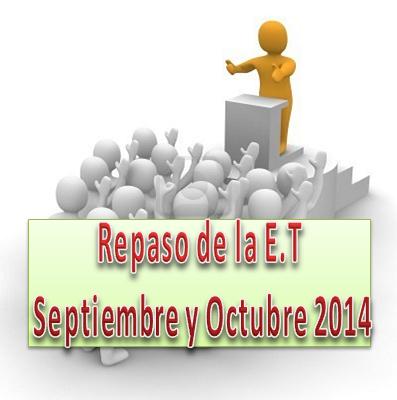 ... de la Escuela del Ministerio del Reino Septiembre y Octubre 2014