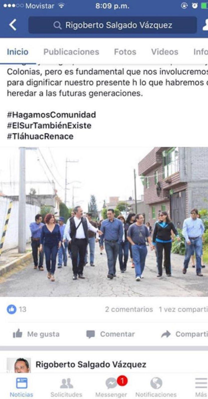 Contraofensiva en redes de troles del delegado de Tláhuac