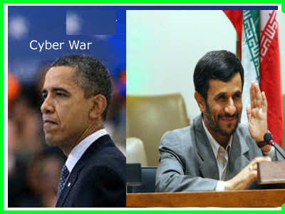 Obama performing politics with Iranian cyber-war