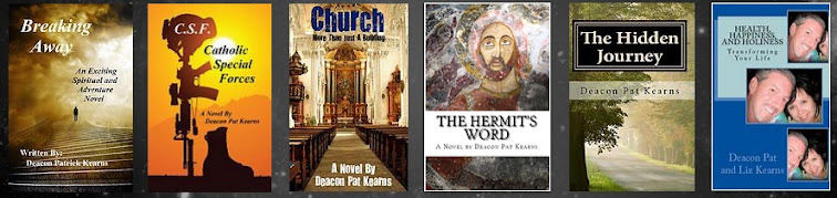 Deacon Pat's Books - Popular Catholic novelist and author!