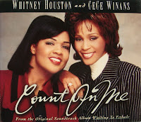 Whitney Houston feat CeCe Winans - Count On Me (CDM) (1996)