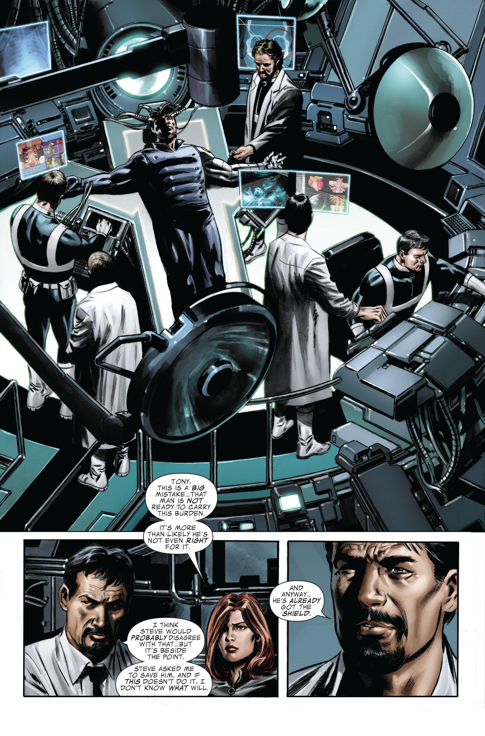 Captain America (2005) Issue #33 #33 - English 25