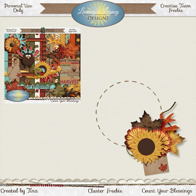 Leaving a Legacy Designs releases Count Your Blessings + Freebie
