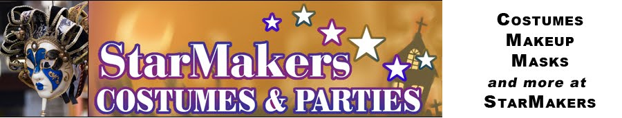Costumes, Make-up, Masks & more at StarMakers