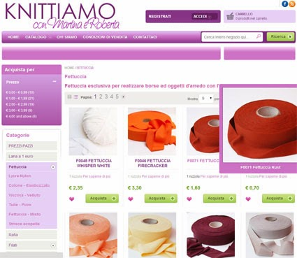 fettuccia shop online