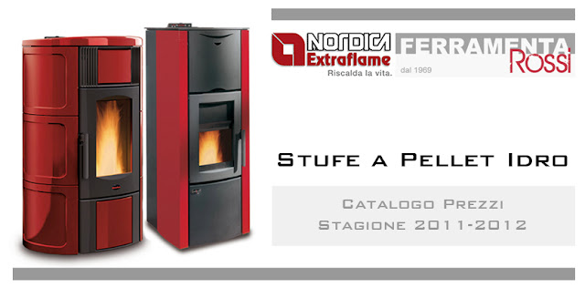 Online Catalogue - Stufe a Pellet Idro