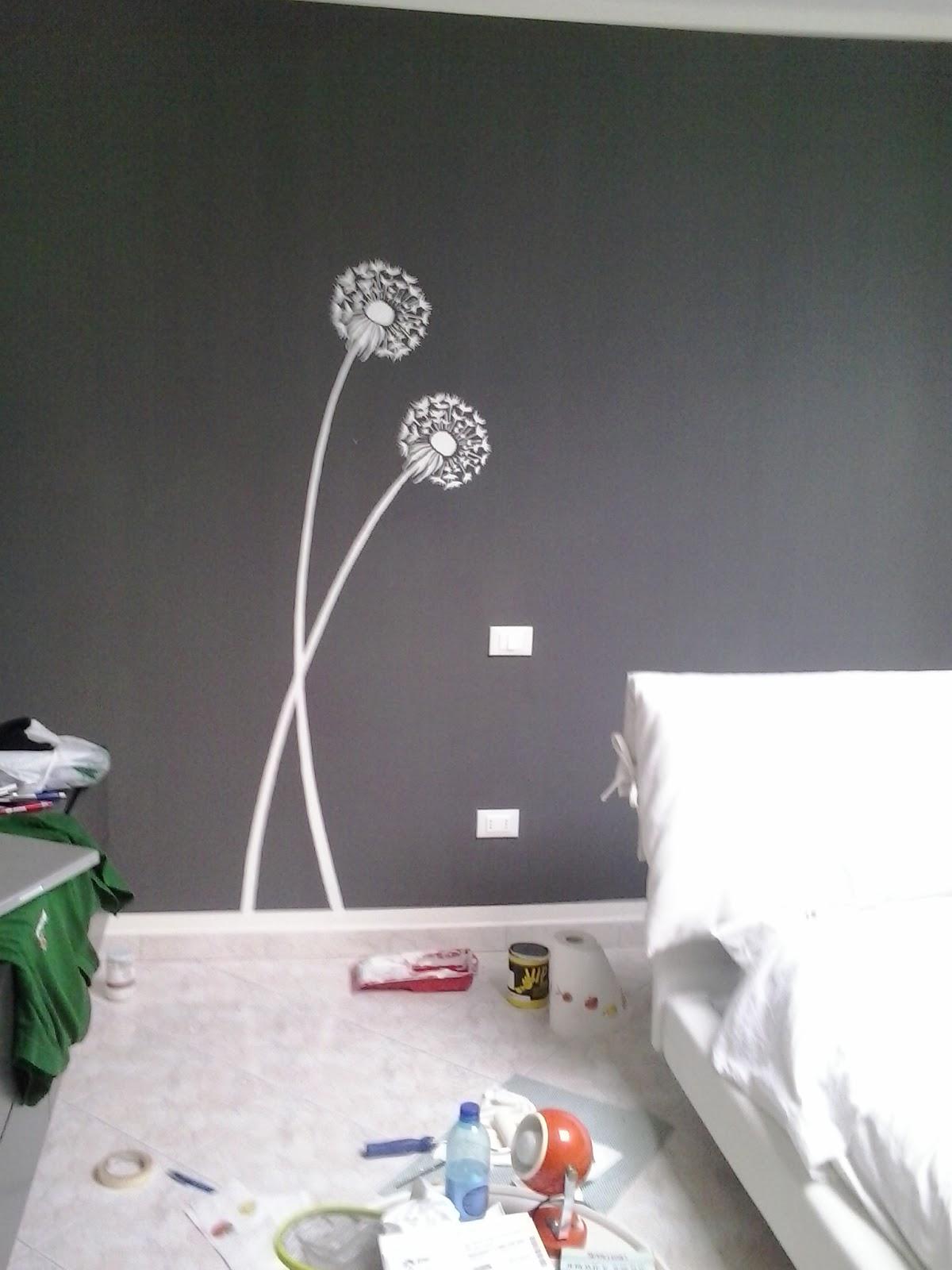 Il piccolo fantamondo stencil romantico - Stencil camera da letto ...