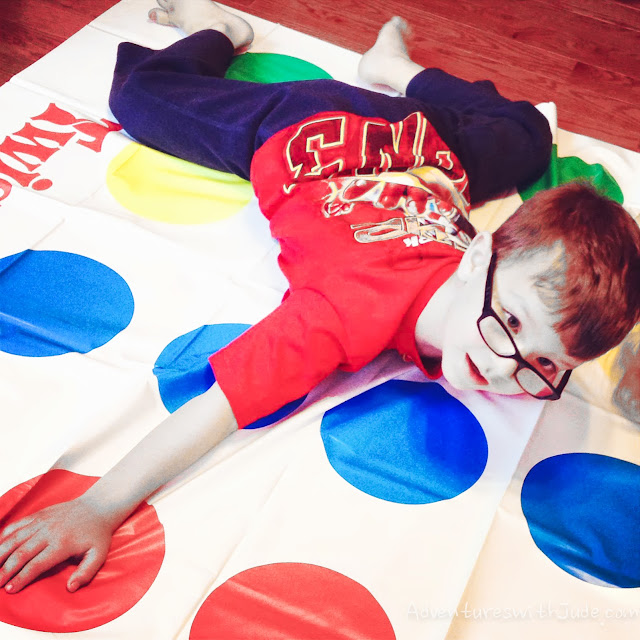 Too short to play Twister