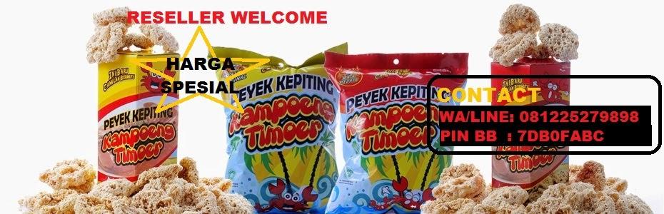 Peyek Kepiting Kampoeng Timoer Bandung