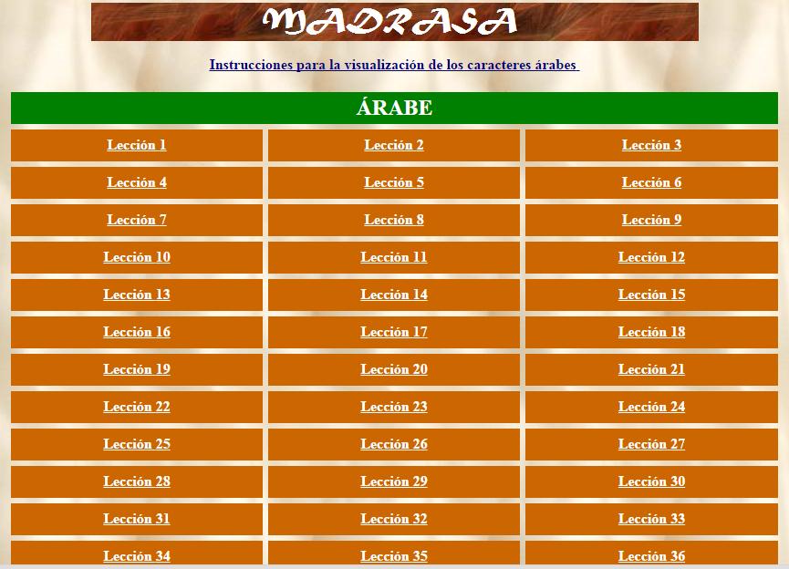 http://www.musulmanesandaluces.org/madrasa/Madrasa.htm