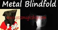 gezzmagicshop.com, alat sulap blindfold metal, alat sulap mentalis, alat sulap bizzare, gimmick sulap jalanan, sulap extreme