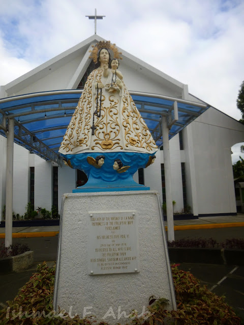 Image of Our Lady of the Most Holy Rosary La Naval de Manila at the Marine Barracks Chapel