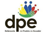 WEB DEFENSORÍA PUEBLO ECUADOR