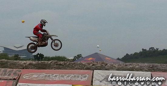 Motorcross di Festival Belia Putrajaya 2015