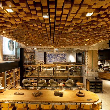 Bambalina: The Bank by Liz Muller for Starbucks