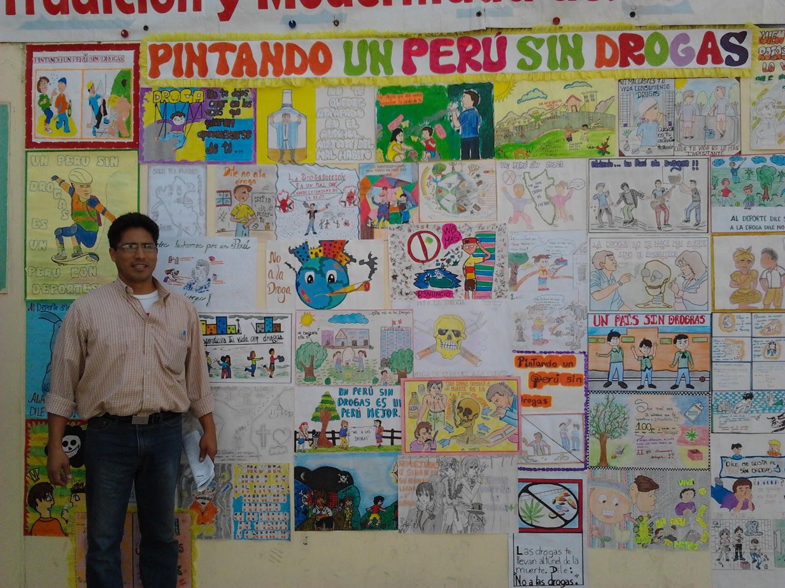Aprendiendo y ense ando en lima norte pintando un per for Cuanto cobrar por pintar un mural