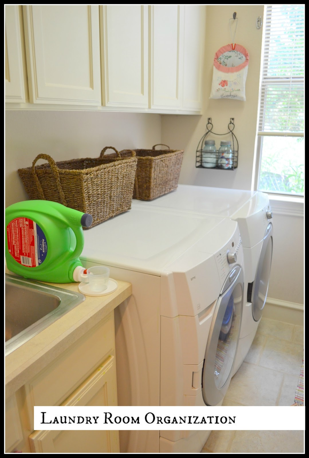 valuable inspiration laundry organization. Not as eye catching some of my inspiration posts  An Organized Laundry Room and Inspiration but I m so happy to walk in there now Archives Lilacs LonghornsLilacs Longhorns
