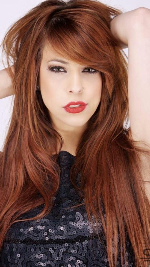 Side Fringe Long Hair - Fringe Hairstyles | Womens Hair Styles
