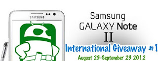 Get a chance to win Samsung Galaxy Note 2