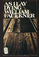 William Faulkner As I Lay Dying cover