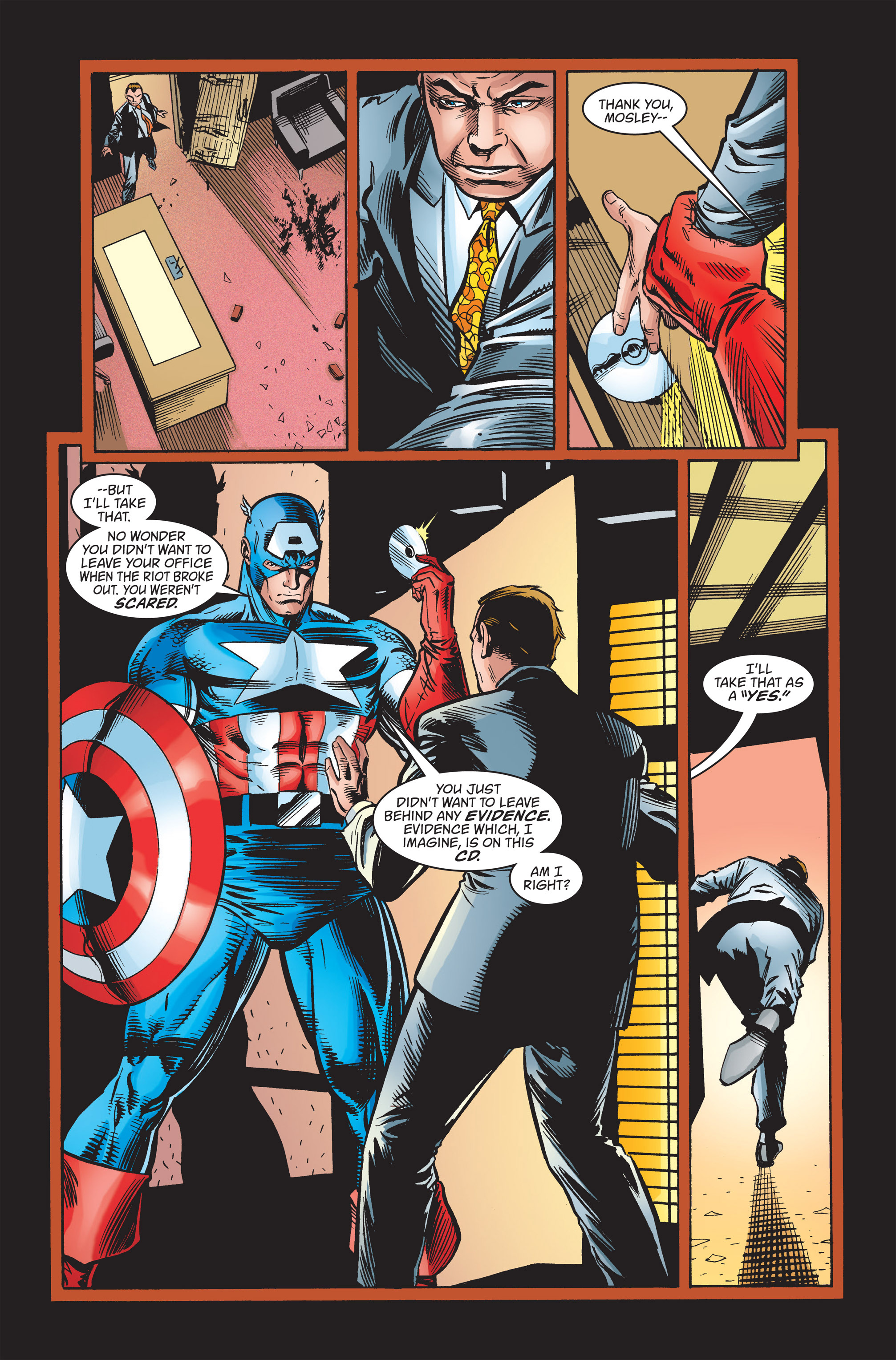 Captain America (1998) Issue #23 #29 - English 19