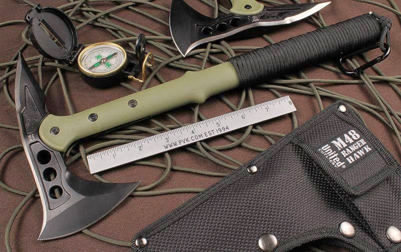 United Cutlery M48 Ranger Tactical Hawk Axe FREE Compass now at RM 459.00 only!