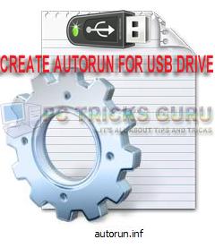Create Autorun File For Pen Drives