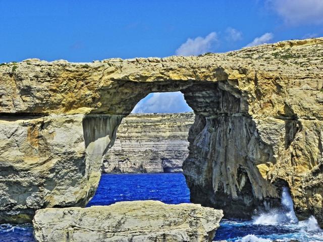 Azure window de Gozo, la ventana azul del Mediterraneo Malta