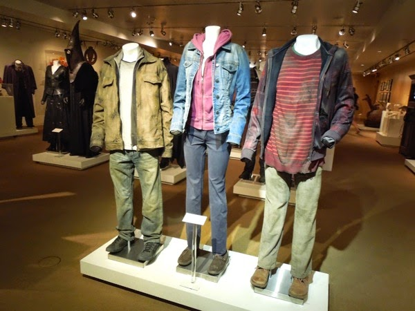 Harry Potter Hermione Ron Deathly Hallows Part 2 movie costumes