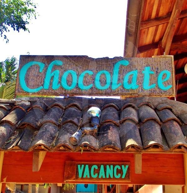 Detalle del Chocolate Hotel. Tamarindo. Costa Rica.