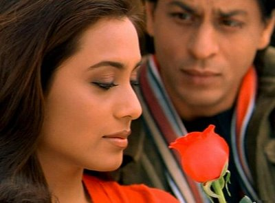 Rani Mukherjee and Shahrukh Khan