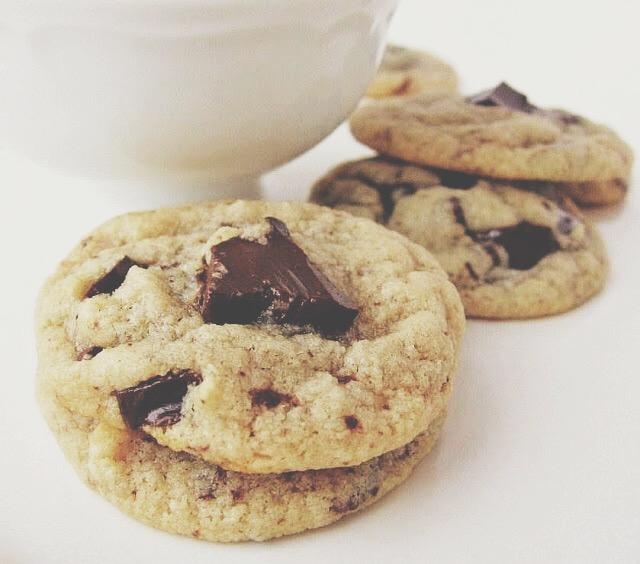 gluten free chocolate chunk cookies | une gamine dans la cuisine