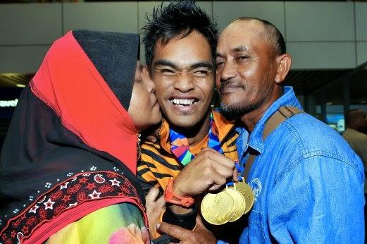 Atlet Paralimpik Malaysia Maut Akibat Kemalangan