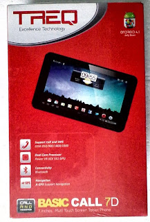 Tablet Android Murah Berkualitas untuk Wanita TREQ Basic Call 7D