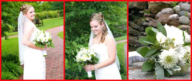 Bride Bouquet Shot