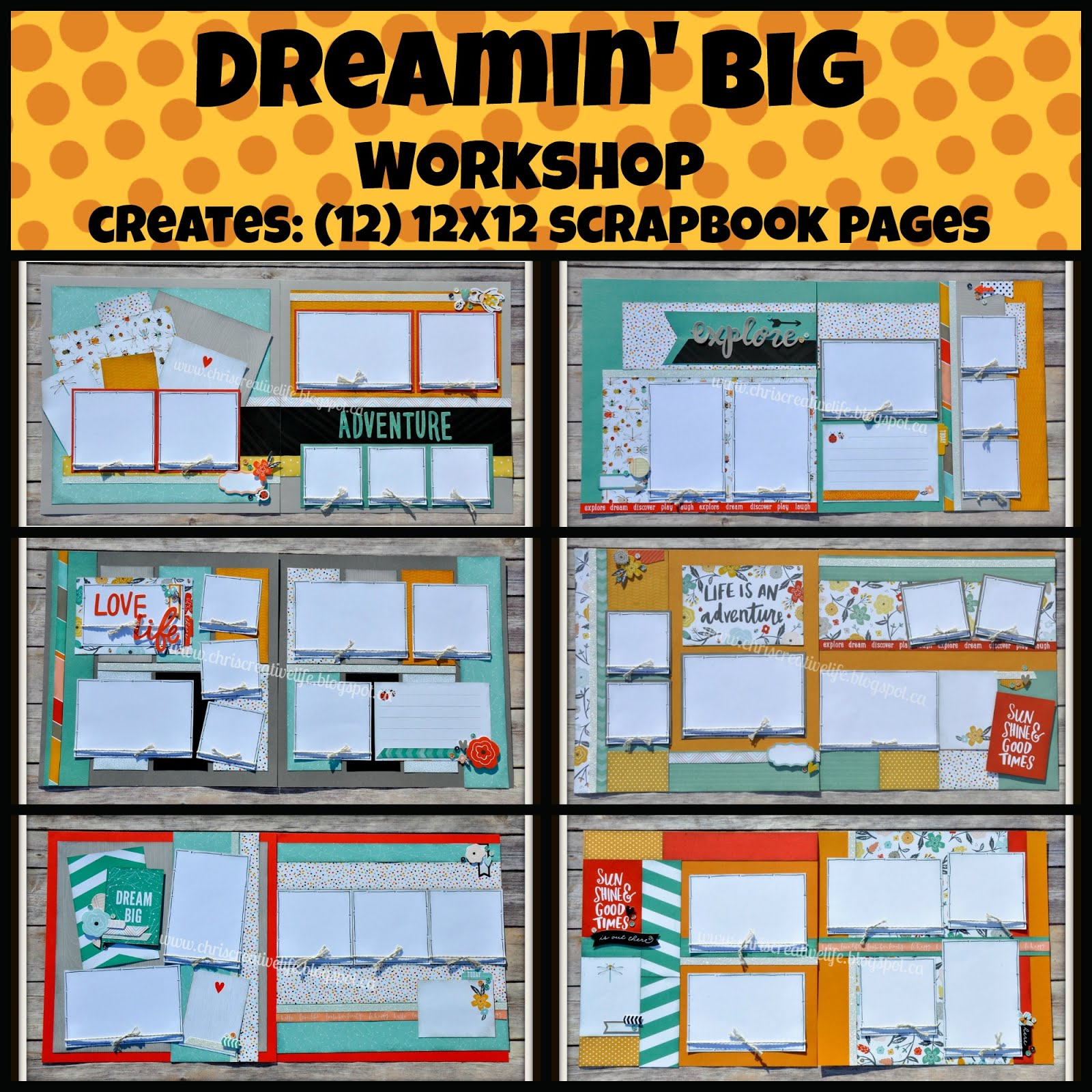 Dreamin' Big Workshop Guide and e-files