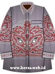 baju batik batak