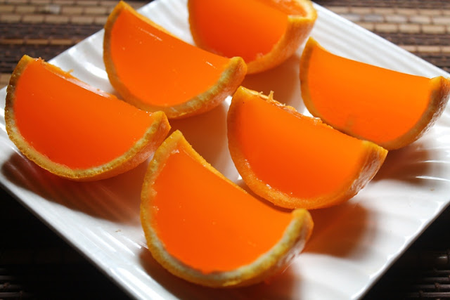 how to make orange jelly at home without gelatin
