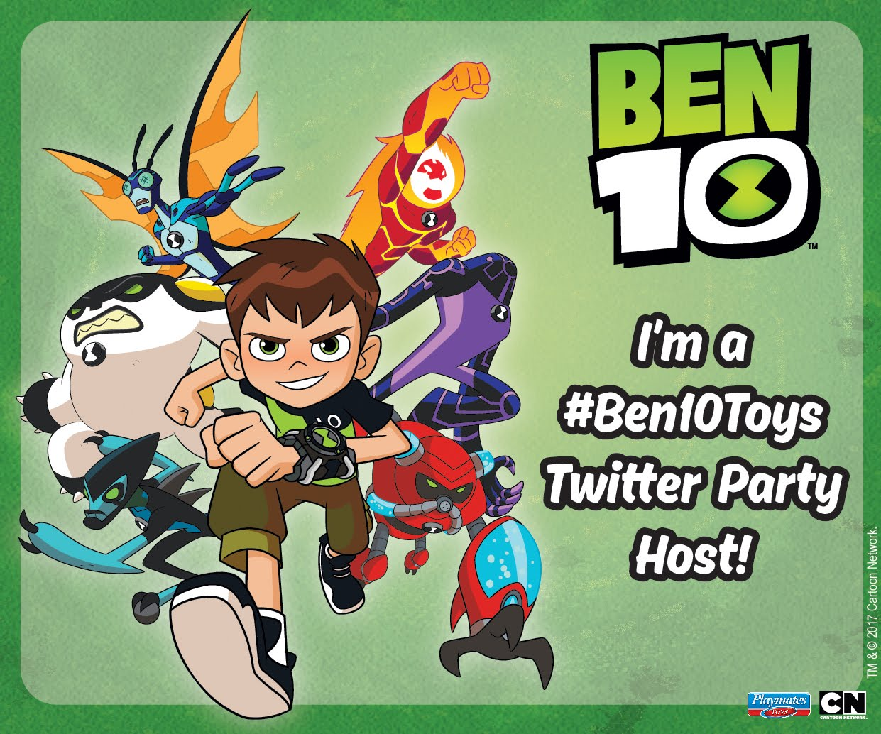 #Ben10Toys Twitter party is coming